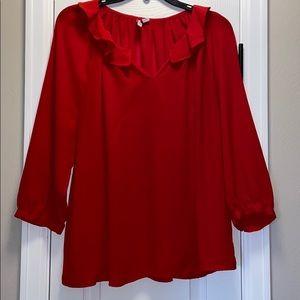 Elle 3/4 sleeve blouse